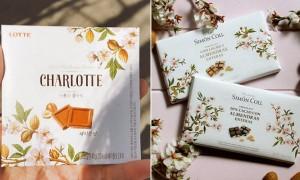 외국 유명 초콜릿 디자인 몰래 훔친 '롯데제과'