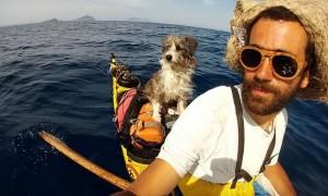 3년간 반려견과 함께 5000km 지중해 여행 떠난 남성 (사진)