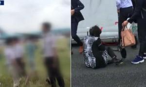 대한항공 탑승객이 찍은 사고 당시 긴박했던 순간 (사진)