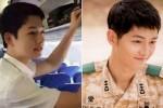 송중기와 쌍둥이 외모로 화제된 '중국 남방항공 승무원'