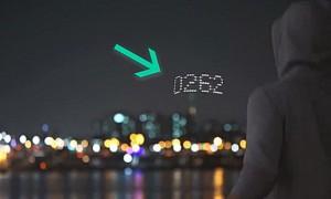 LED 불빛으로 '뛴 횟수' 알려주는 줄넘기