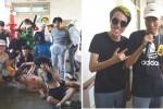 의정부고에게 선전포고한 충북 제천고 학생들의 졸업사진
