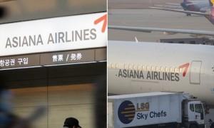 엔진서 불난 항공기에 승객들 태워 돌아온 아시아나항공