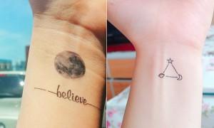 요즘 10대 사이에 대박난 다이소 천원 '문신 스티커'