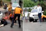 비탈길에 주차된 SUV 미끄러져 6살 아들 잃은 엄마