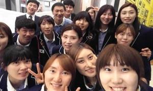 여자 배구 대표팀 드디어 '회식 자리' 성사