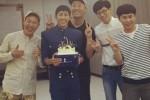 막내 광희 생일 축하해주는 '무도' 형들 (영상)