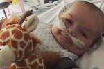 15시간 동안 죽어 있던 아기가 깨어나 보인 미소