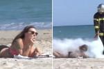 공공장소서 '담배' 태우던 흡연자들의 최후 (영상)