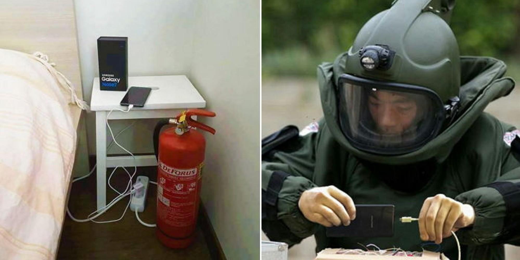 해외 누리꾼들이 만든 갤노트7 폭발 풍자 사진 10장 - 인사이트