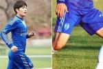 축구선수 출신 아이돌의 남다른 '말벅지' 위엄