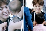 아기 바라보는 눈에서 '꿀' 떨어지는 박보검 (사진 8장)