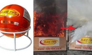 화재 '1초' 만에 진압하는 '마법의 공' 출시 (영상)