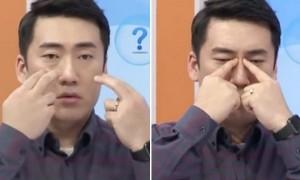 비염으로 막힌 코 시원하게 뚫어주는 '부비강 지압법' (영상)