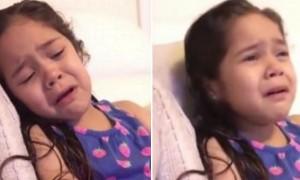 오바마 대통령 퇴임이 아쉬워 '폭풍 눈물' 흘린 6살 소녀 (영상)