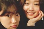 '도깨비' 종방연 파티서 신부 김고은과 우정샷 찍은 처녀귀신