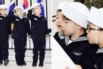'김좌진 장군' 순국일 맞아 해군 찾아간 삼둥이 사진 8