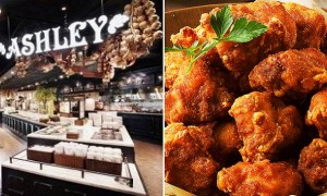 애슐리에서 치킨대신 '닭고기 육회' 먹은 고객이 올린 사진 한 장
