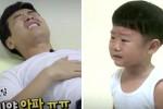 아빠 이동국이 '아픈척'하자 펑펑 우는 대박이 (영상)