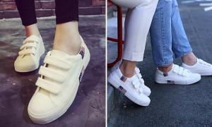 디자인 귀여워 '커플 신발'하기 좋은 '찍찍이 신발'