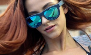 이어폰 없이 음악 듣는 스마트 선글라스 '정글 팬더' (영상)