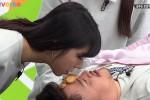 미성년 출연진에 '입으로 과자 옮기기 게임' 시킨 투니버스