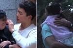 '피고인' 마지막 촬영 끝내고 신린아 꼭 안아주는 지성 (영상)