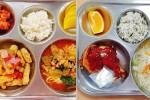 교육부장관 표창까지 받은 파주 세경고 급식 수준 (사진)