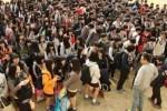 2014년 4월 15일 수학여행 출발 전 단원고 학생들의 마지막 모습
