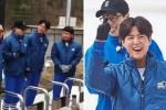 평창 '무한도전' 촬영서 함박웃음 터뜨리는 박보검