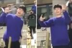 대학 축제 무대서 춤추는 '프듀 101' 연습생 옹성우 (영상)
