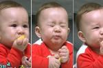 처음 맛본 레몬에 중독돼 '윙크' 뿅뿅 날리는 윌리엄 표정 (영상)