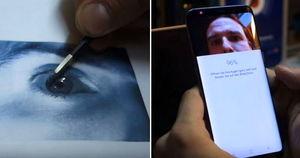 독일 해커들이 밝힌 '갤럭시S8' 홍채 인식 '1분' 만에 뚫는 법 (영상)