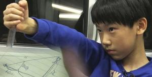 학교서 배운 수학으로 지나가는 사람 '키' 다 맞추는 '수학 영재'