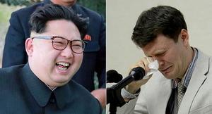 김정은 사진 실린 신문으로 '구두' 쌌다가 구속된 웜비어
