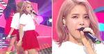 '핑크빛 긴 웨이브'하고 가창력 폭발한 '마마무' 솔라 (영상)