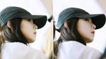 모자에도 가려지지 않는 레드벨벳 아이린의 '청순 미모'