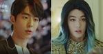 '푸른빛'으로 염색하고 '물의 신' 하백으로 변신한 남주혁 (영상)