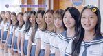 교복 입고 칼군무 뽐내는 '아이돌학교' 입학생 41명  (영상)
