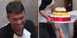 밥 좋아하는 노사연 위해 '4단 밥케이크' 만든 김건모 (영상)