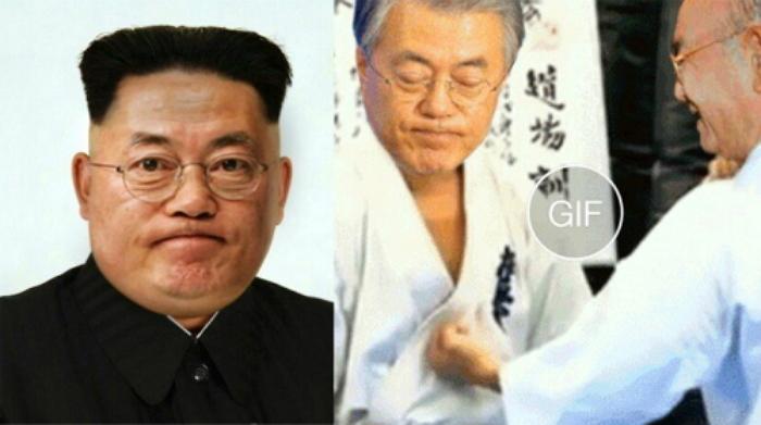 문재인 김정은에 대한 이미지 검색결과