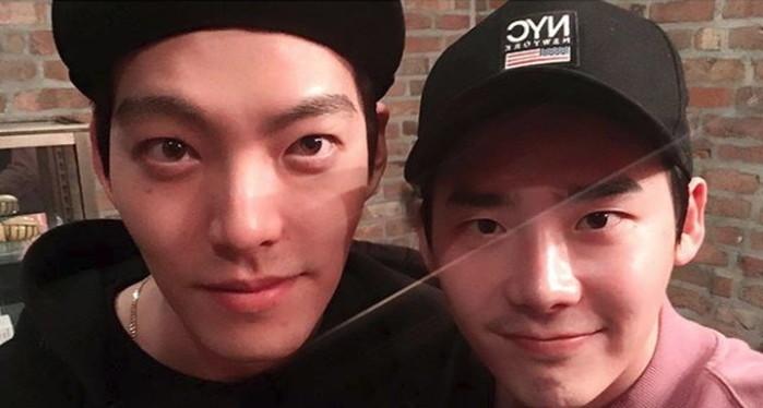 Lee Jong Suk And Kim Woo Bin Reunite In New Instagram Post