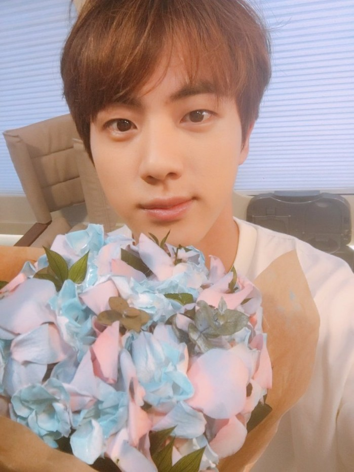BTS Celebrates Birthday Of 'Big Brother' Jin