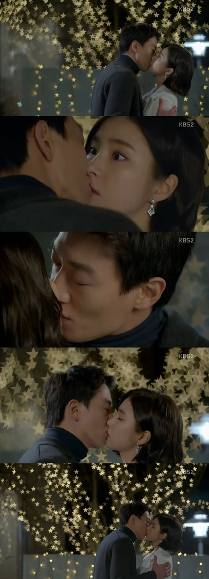 Kim Rae Won And Shin Se Kyung Set The Mood For Their Kiss Scene In