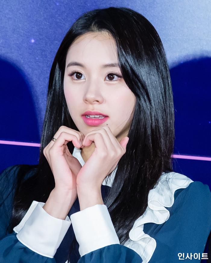 트와이스 채영이 6일 오후 서울 용산CGV 아이파크몰에서 열린 영화 '트와이스랜드' 언론시사회에 참석해 레드카펫을 밟고 있다. / 사진=고대현 기자 daehyun@