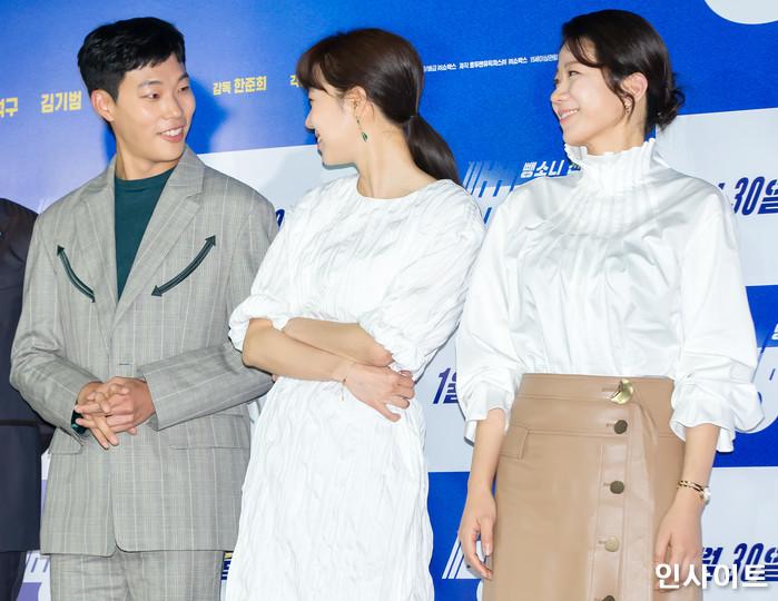 1월 25일 서울 중구 메가박스 동대문에서 열린 영화 '뺑반' 언론시사회 현장 / 사진=박찬하 기자 chanha@