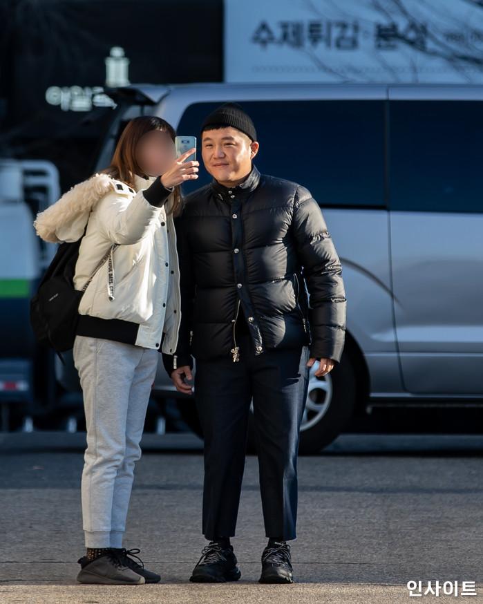 조세호가 26일 오전 서울 여의도동 KBS별관에서 열린 KBS 2TV '해피투게더 시즌4' 녹화에 참석하고 있다. / 사진=고대현 기자 daehyun@