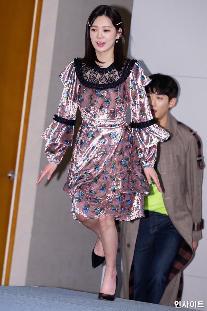 1월 30일 서울 마포구 가든호텔에서 열린 tvN 금요드라마 '막돼먹은 영애씨 시즌17' 제작발표회 현장. / 사진=박찬하 기자 chanha@