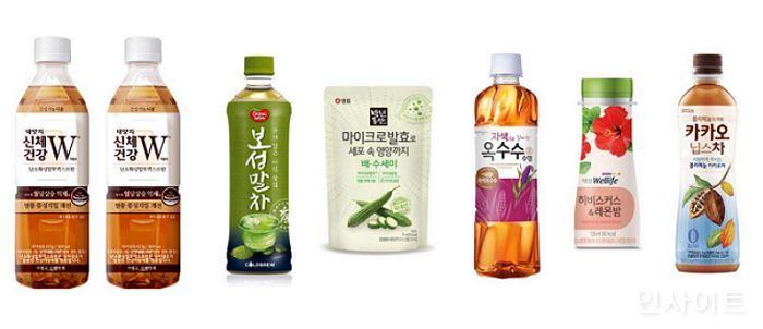 유통업계, 건강에 도움 주는 다양한 성분 담은 음료로 소비자 공략