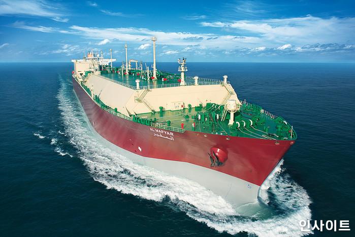 삼성중공업이 카타르로부터 수주해 건조한 세계 최대급 LNG선 / 사진제공 = 삼성중공업 / 사진=인사이트